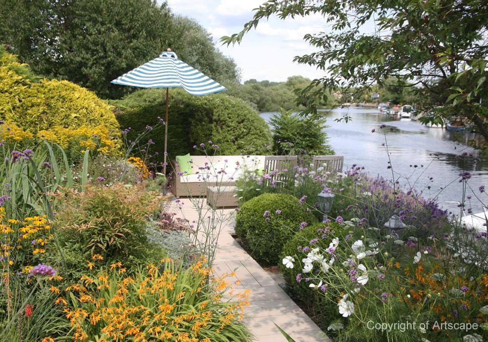 Riverside Garden Design, Berkshire | Artscape