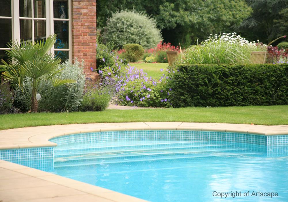 Swimming pool garden 2 artscape for Garden 7 pool