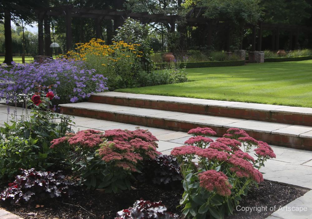 Medium -sized Family Garden Design on Medium Sized Backyard Ideas id=42246