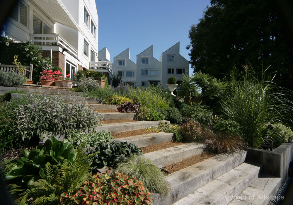 Riverside Garden Design Example - Artscape