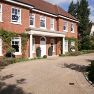 Examples Of Garden Design Large Contemporary Courtyard
