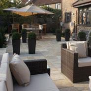 Modern Property Garden Design