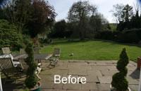 Listed Property Garden Design 2 Before