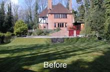 Formal garden 3 - before