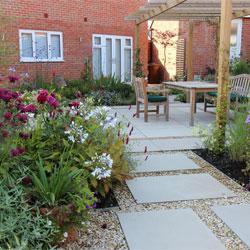Modern Property Garden
