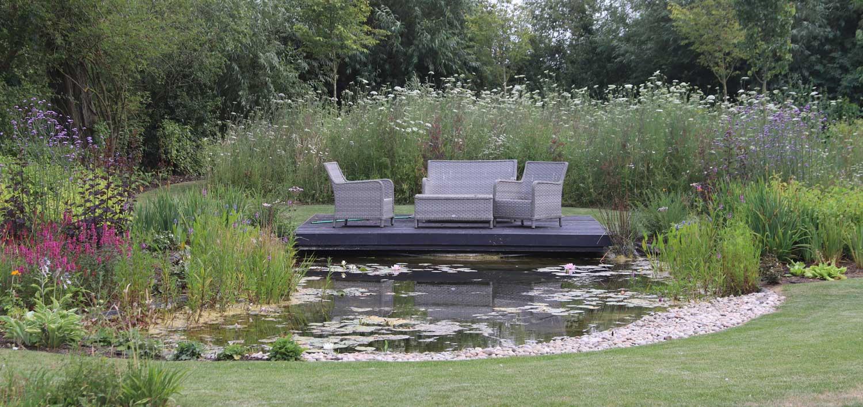 garden landscaping - pond - Artscape